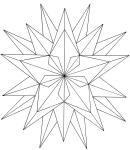dover geometric star