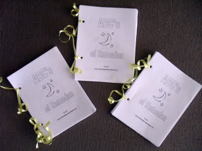 ABCs Of Ramadan Mini Colouring Book