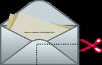 Envelope Bookmark