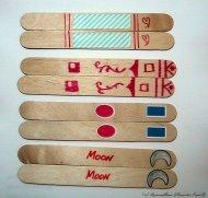 matching craft sticks finished