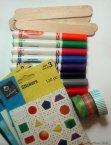 matching craft sticks supplies